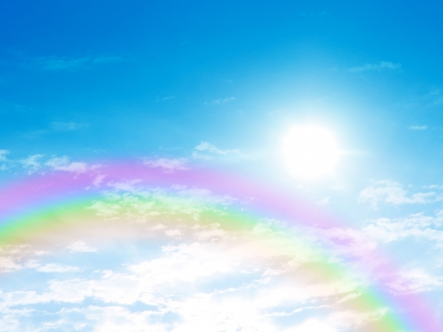 虹と太陽1